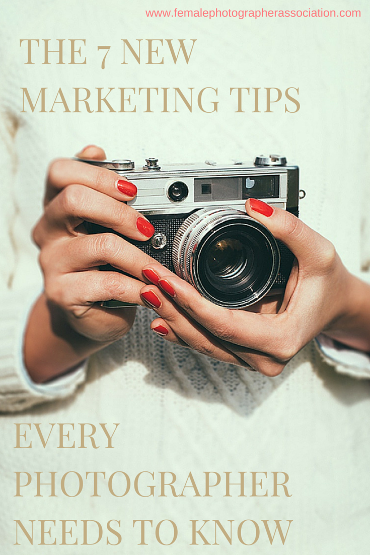The 7 NEW marketing tips every